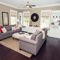 Living Room at Carolina Bay in Autumn Hall - Garden Flat