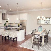 Carolina Bay Kitchen and Dining Room - Garden Flat